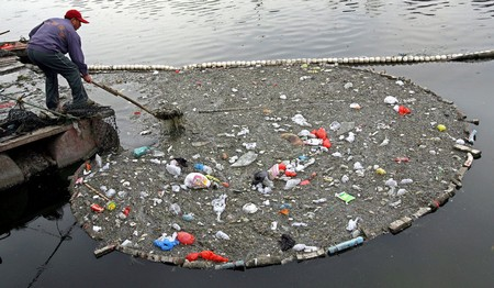 garbage and pollution